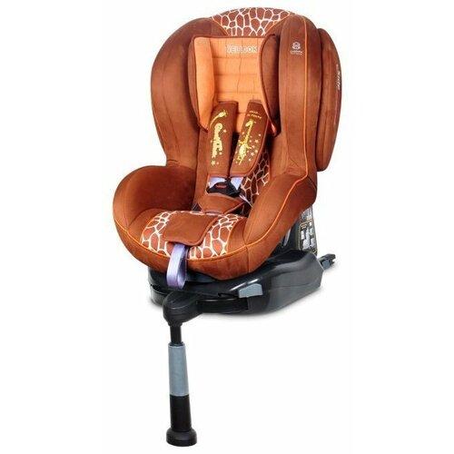 Автокресло группа 1/2 (9-25 кг) Welldon Royal Baby SideArmor & CuddleMe IsoFix, Giraffe Talk автокресло группа 1 2 3 9 36 кг little car ally с перфорацией черный