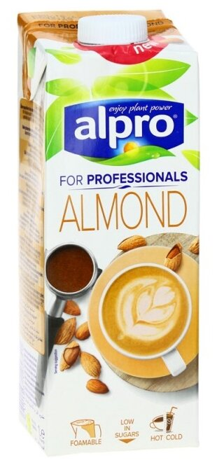 Миндальный напиток alpro For Professionals 1.2%, 1 л