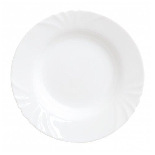 Luminarc Тарелка суповая Cadix 23 см белый тарелка суповая luminarc every day 22 см