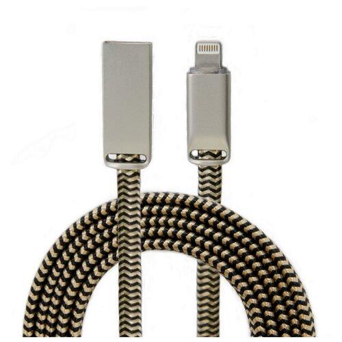 Кабель WIIIX USB - Lightning (CB955-2А-U8-SK-12) 1.2 м золотой шелк