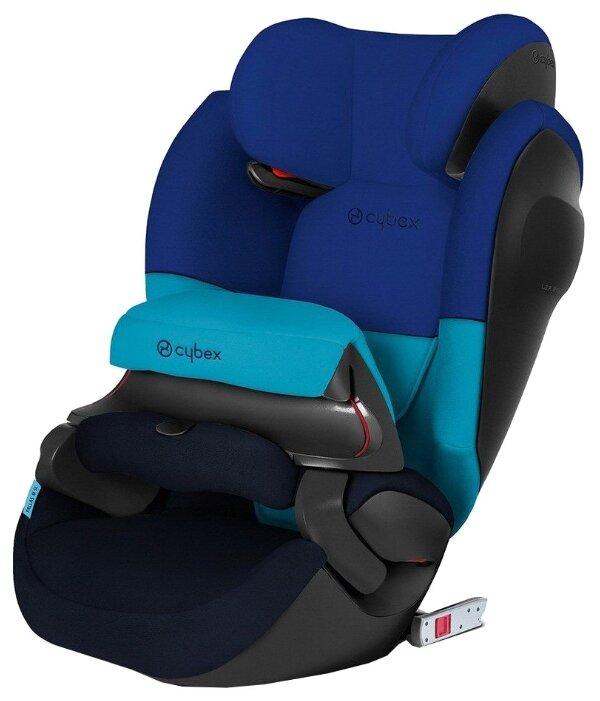Купить Автокресло группа 1/2/3 (9-36 кг) Cybex Pallas M-Fix SL, Blue moon по низкой цене с доставкой из Яндекс.Маркета (бывший Беру)
