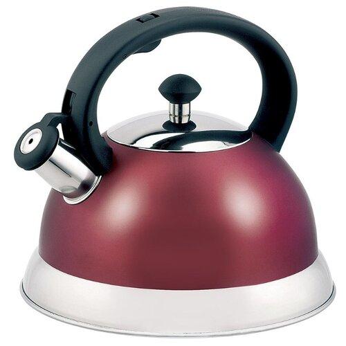 Appetite Чайник со свистком LKD-H063 2,5 л, красный