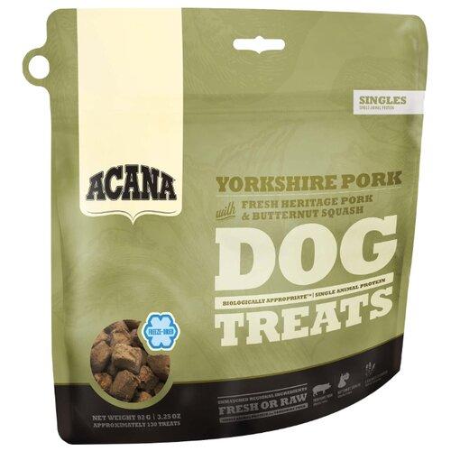 Лакомство для собак Acana Yorkshire Pork Свинина и мускатная тыква, 92 г