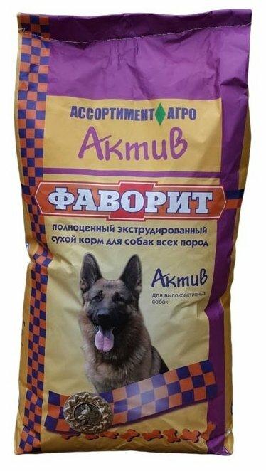 Корм для собак Фаворит Актив (4 кг)