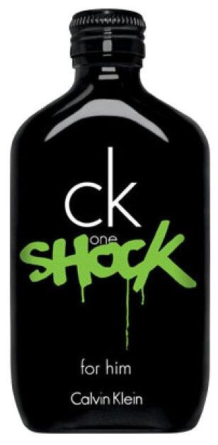 Туалетная вода CALVIN KLEIN CK One Shock for Him — купить по выгодной цене на Яндекс.Маркете
