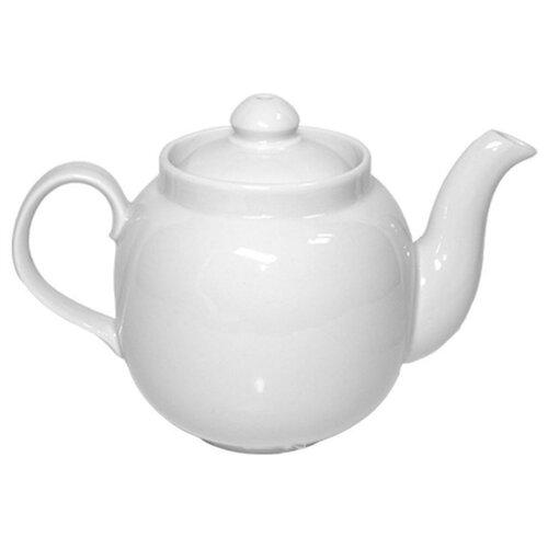 Дулёвский фарфор Заварочный чайник Янтарь 700 мл белый