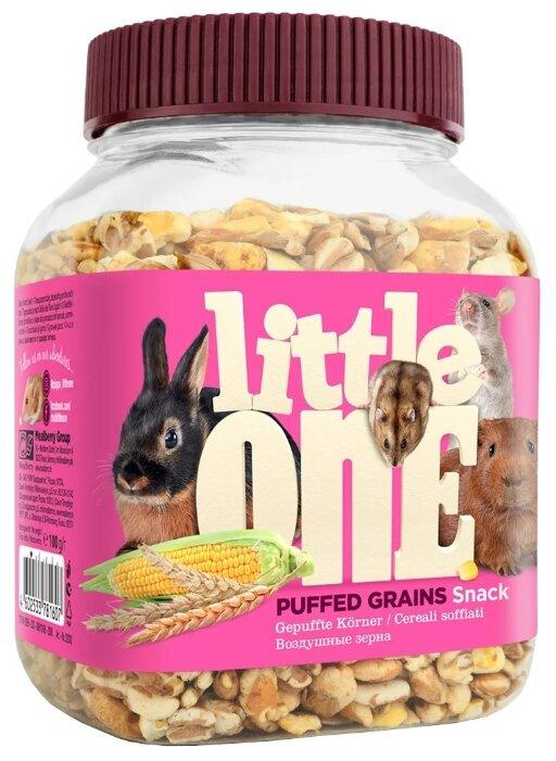 Лакомство для кроликов, грызунов Little One Snack Puffed grains