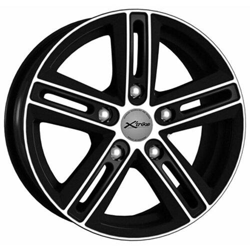 Фото - Колесный диск X'trike X-123 6.5x16/5x130 D84.1 ET40 BK/FP колесный диск x trike x 123 6 5x16 5x139 7 d98 et40 hsb fp