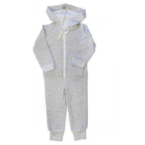 Комбинезон Веселый Малыш 351/140, размер 86, серый