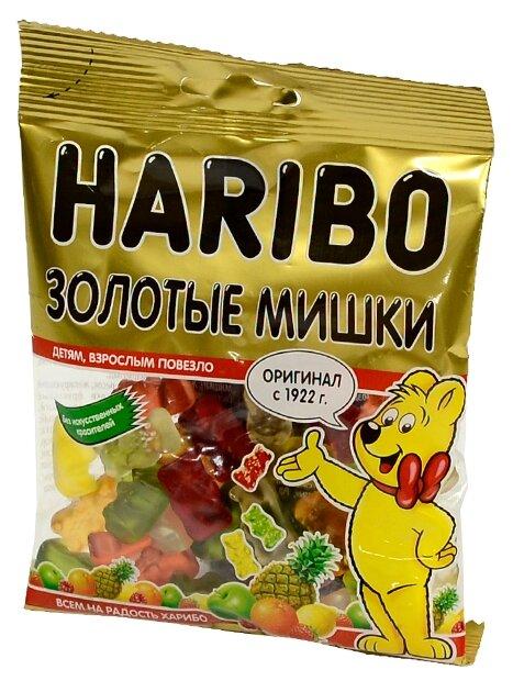 Мармелад жевательный Haribo Золотой мишка пак 70г