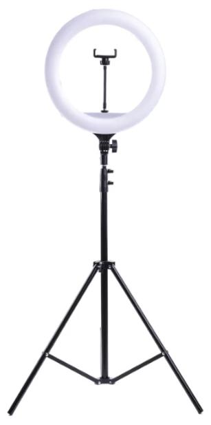 Кольцевой осветитель BLF Lighting Кольцевая светодиодная лампа 36 см со штативом 2,1 метра