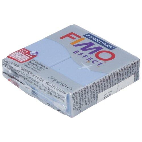 Купить Полимерная глина FIMO Effect запекаемая голубой агат (8020-386), 57 г, Глина