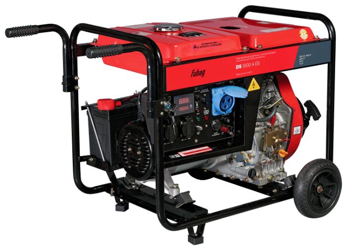 Дизельный генератор Fubag DS 5500 A
