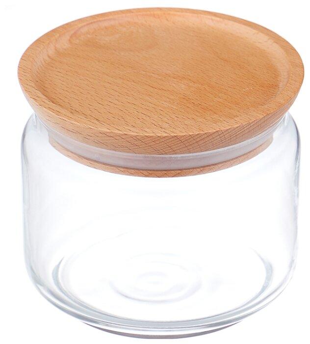 Luminarc Банка с деревянной крышкой Box Mania 0,5 л