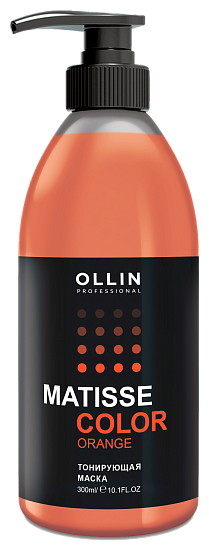 Маска OLLIN Professional Matisse Color Orange тонирующая