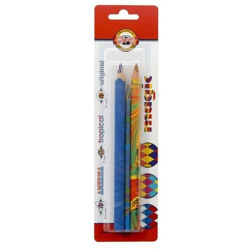 KOH-I-NOOR набор цветных карандашей Magic, 3 шт (9038) koh i noor кисть белка круглая 10 короткая ручка 200401