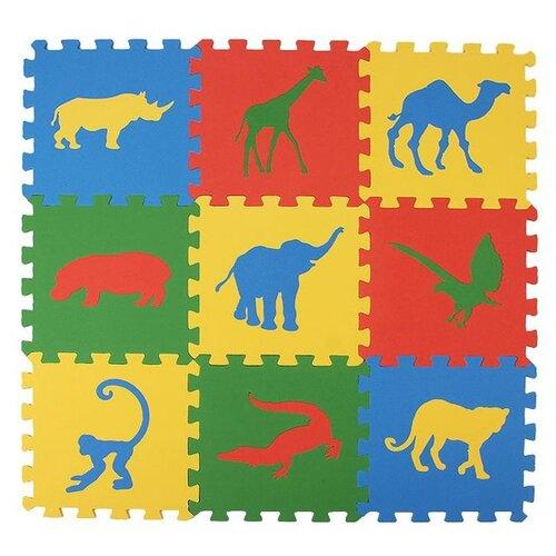 Купить Коврик-пазл ЭкоПолимеры Сафари (33МП1/С), Игровые коврики