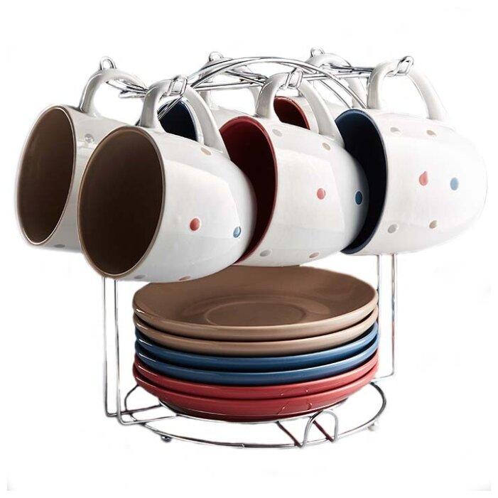 Чайный сервиз Rosario Ф17-031K/12, 6 персон — купить по выгодной цене на Яндекс.Маркете