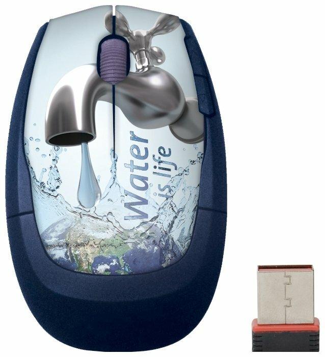 Мышь Cirkuit Planet CPL-MW1118 Ecologic White-Blue USB