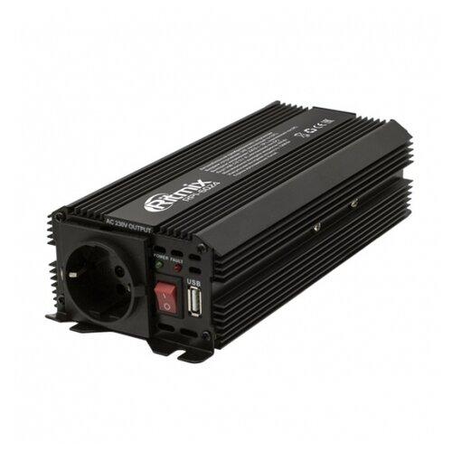 Инвертор Ritmix RPI-6024 черный автомобильный инвертор напряжения ritmix rpi 6010 600вт max usb