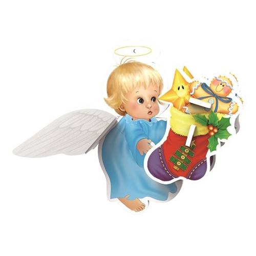 3D-пазл IQ Puzzle 3D Ангел (17006), 6 дет.