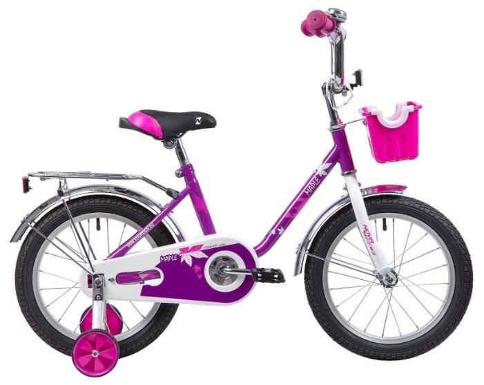 Детский велосипед Novatrack Maple 16 (2019)