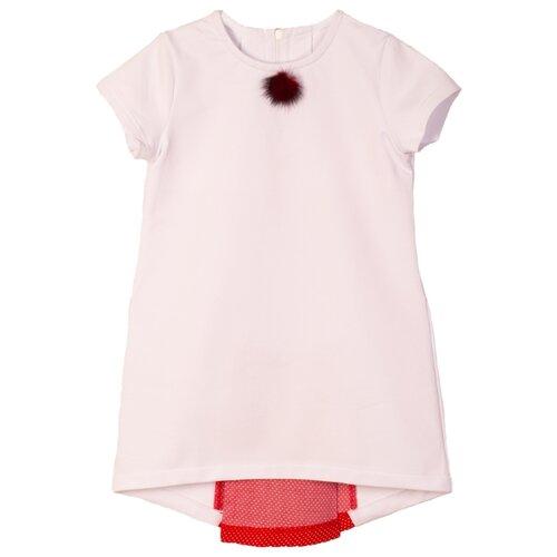Платье ЁМАЁ размер 92, белый bt131 bt131 600 to 92