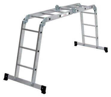 Лестница трансформер 4-секционная ОЛИМП 2320403 A