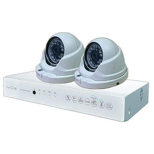 Комплект видеонаблюдения IVUE D5004-AHC-D2 2 камеры ivue ipc ob40f36 20p