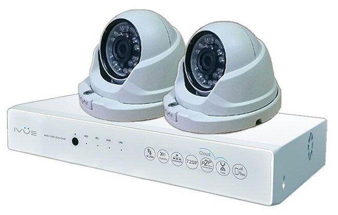 Комплект видеонаблюдения IVUE D5004-AHC-D2 2 камеры