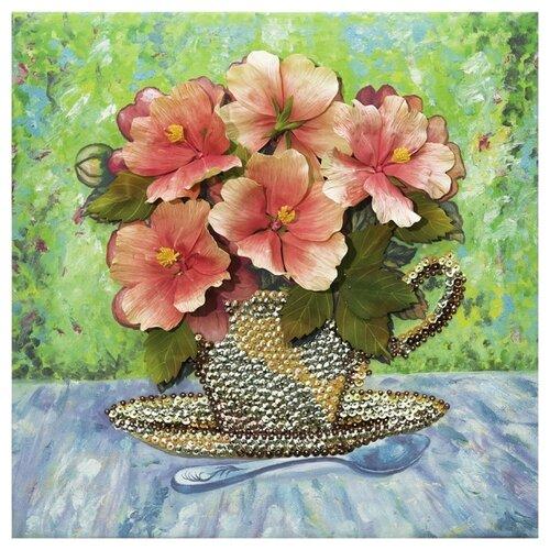 Волшебная Мастерская Мозаика из пайеток на холсте Летний букет МХ-12 картины своими руками волшебная мастерская мозаика из пайеток букет