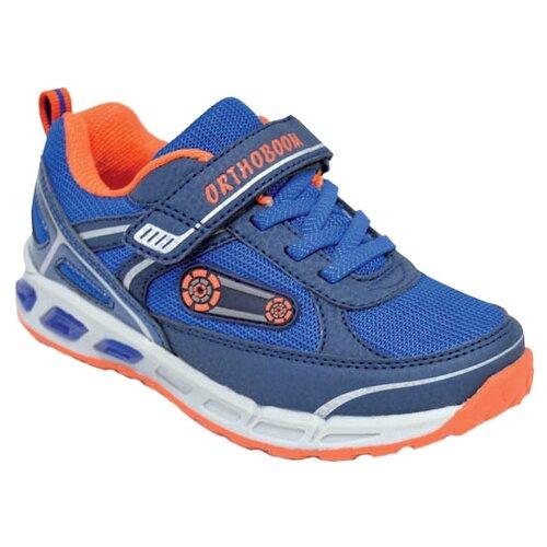 Кроссовки Orthoboom размер 23, ярко-синий/оранжевый ботинки orthoboom orthoboom or016abcybt4