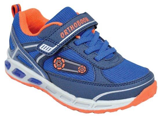 Кроссовки Orthoboom размер 23, ярко-синий/оранжевый