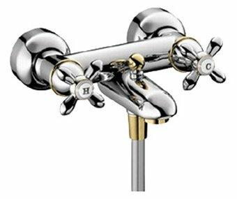 Смеситель для ванны с душем AXOR Carlton 17430090 двухрычажный двухцветный