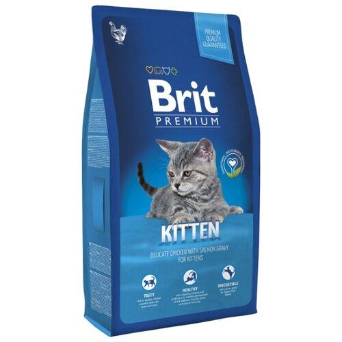Корм для кошек Brit (8 кг) Premium Chicken KittenКорма для кошек<br>