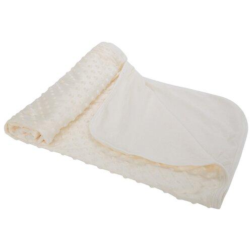 Купить Плед Зайка Моя вельбоа 80 х 100 см молочный, Покрывала, подушки, одеяла