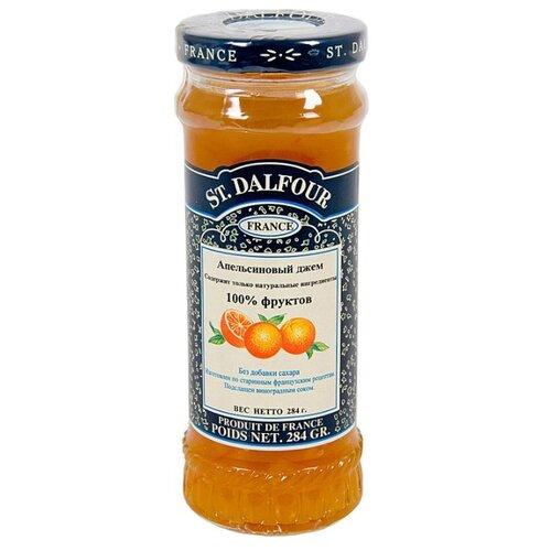 Джем St. Dalfour апельсиновый без сахара, банка 284 г апельсиновый мармелад шикарный апельсиновый мармеладный джем 10 унций 284 г