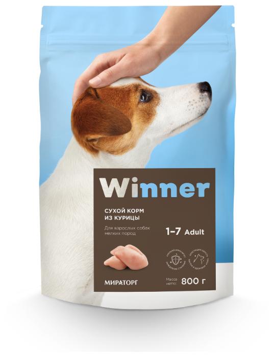 Корм для собак Winner курица (для мелких пород) — более 10 предложений — купить по выгодной цене на Яндекс.Маркете