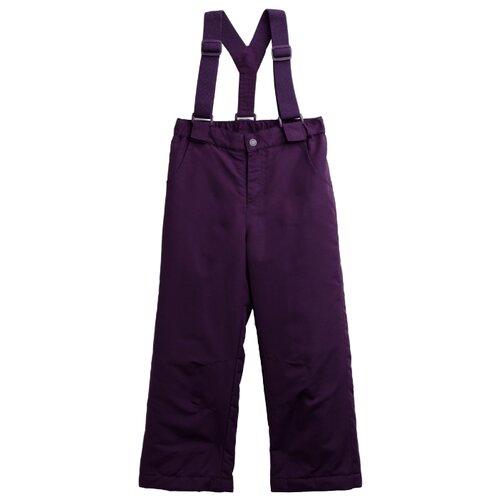 Брюки playToday Акварелька 192017 размер 110, фиолетовыйПолукомбинезоны и брюки<br>