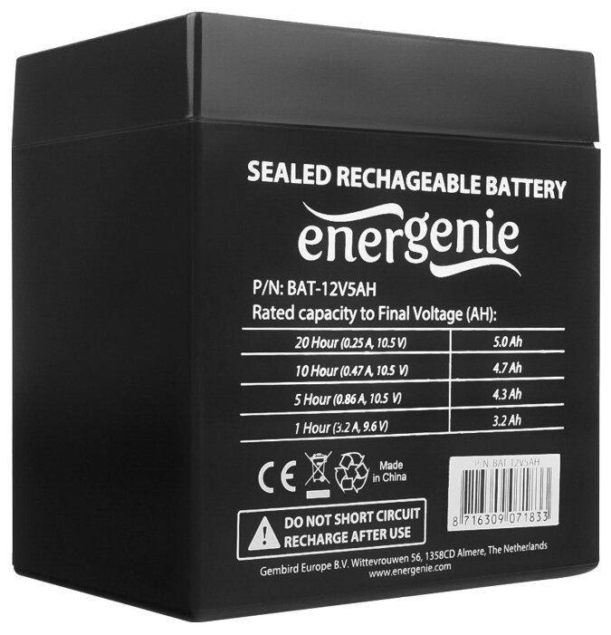Аккумуляторная батарея Energenie BAT-12V5AH 5 А·ч