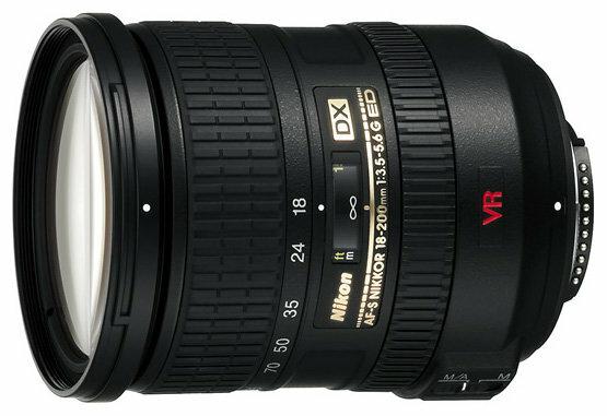 Объектив Nikon 18-200mm f/3.5-5.6G IF-ED AF-S VR DX Zoom-Nikkor
