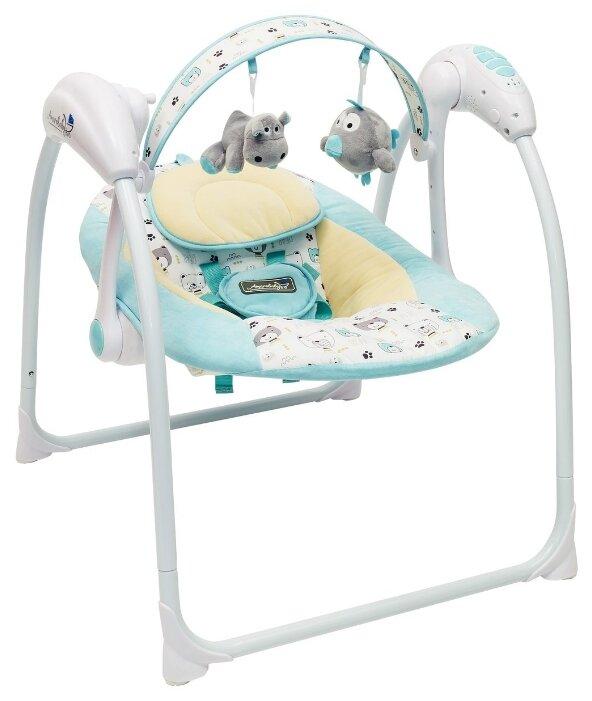 Электронные качели AmaroBaby Swinging Baby Turquoise