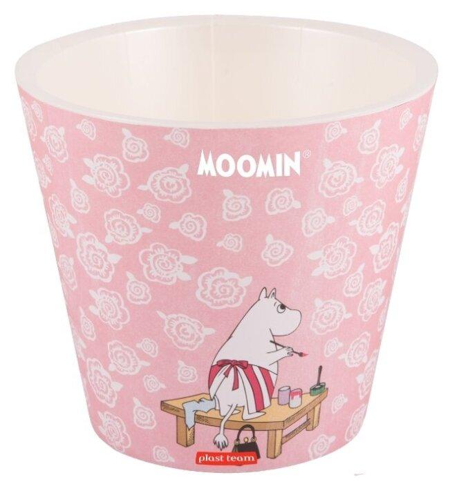 Кашпо Plast Team Moomin, 20х18.3 см