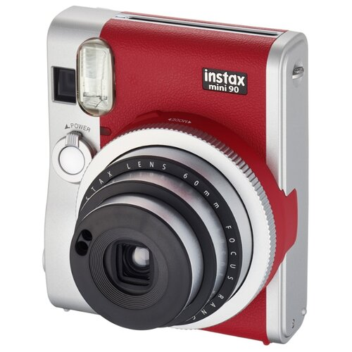 Фото - Фотоаппарат моментальной печати Fujifilm Instax Mini 90, red фотоаппарат fujifilm instax mini 9 flamingo pink