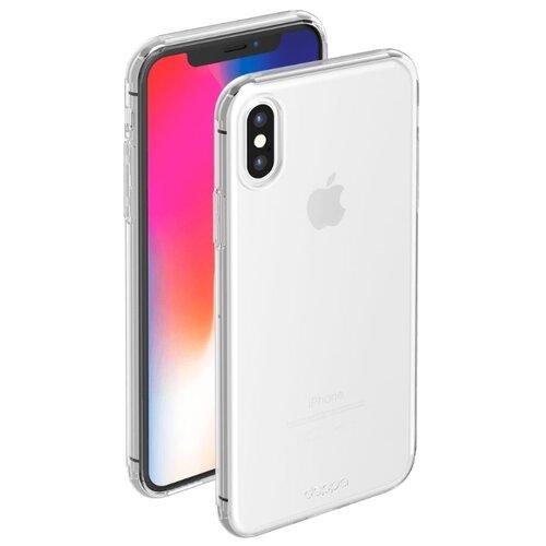 Фото - Чехол-накладка Deppa Gel Case для Apple iPhone X/Xs прозрачный чехол deppa air case для apple iphone x xs золотой 83322