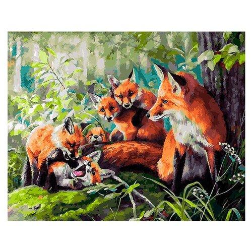 Купить Белоснежка Картина по номерам Кутерьма 40х50 см (221-AB), Картины по номерам и контурам