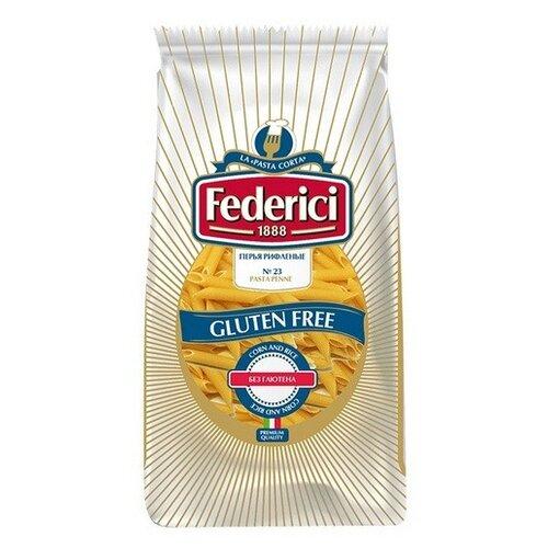 Federici Макароны Перья рифленые №23 gluten free, 400 г