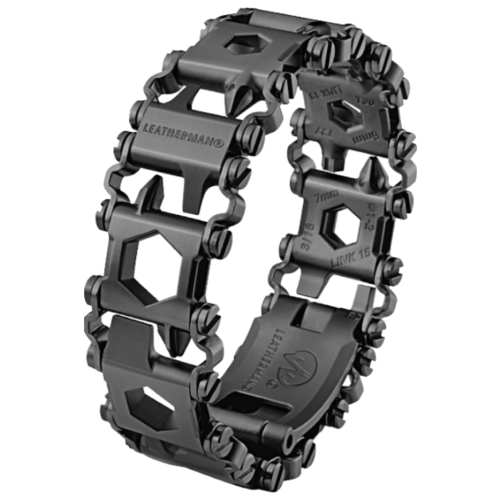Мультитул LEATHERMAN Tread LT (832432) (29 функций) черныйНожи и мультитулы<br>