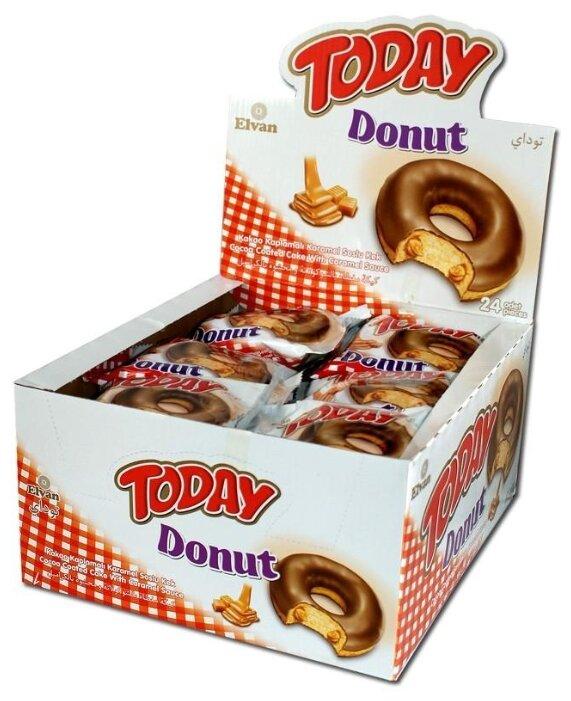 Пончик «Today Donut caramel» 50 гр