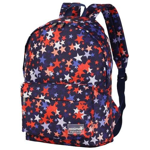 Рюкзак Nosimoe 8302-01-02 звезды синий